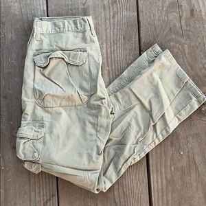 Men's wrangler tan pants